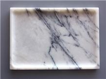 Italy Lilac Marble Tray Kitchen Set Bathroom Set