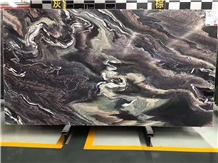Purple Wave Marble Stone Slab