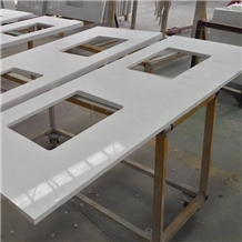 Quartz Kitchen Prefab Countertops