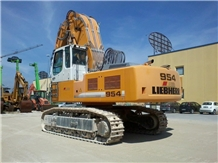 Liebherr R954c Front Shovel Used Stone Quarry Equipment