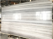 Building Natural Crystal Wooden Grain Marble Slabs