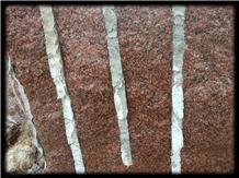 Ilkal Pg Red Granite Blocks