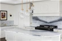 Blue Night Quartzite Kitchen Countertop,Island Top