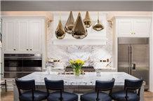 Calacatta Paonazzo Marble Kitchen Countertop