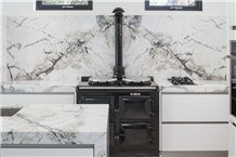 Ponte Vechia Marble Kitchen Countertop Project