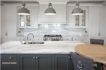 Python Grey Marble Kitchen Countertop Project