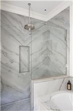Superlative Marble Bathroom Design