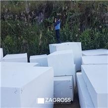 Alaska White Marble Blocks