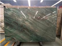 Pampers Green Quartzite Slab Botanic Green