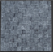 Blue Limestone Mosaic New 3d Design
