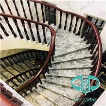 Grey Marble Stairs & Steps
