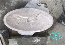 Pearl White for Bathroom Wash Basin