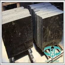 Quality Natural Wooden/White/Grey Veins Marble