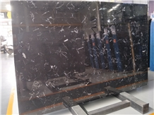 China New Black Marble Big Slab for Countertop
