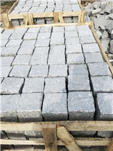Rs Grey Granite Cube Paving Floor Covering Pavement