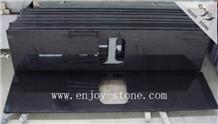 Mongolian Black Granite,Polished Countetop