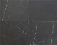 Pietra Gray Marble Tiles, Grey Polished