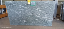 Verde Marina Granite Slabs, Kuppam Green Slabs
