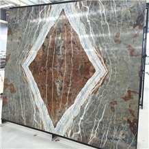 Blue Jeans Marble Big Slabs,Blue Marble Bookmatch