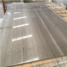 Wood Grain Gray Marble Slab,China Gray Stone Slab