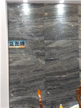 Blue Totem Marble Slabs, Tiles