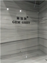 Gem Grey Marble Slabs, Tiles