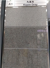 Kayon Grey Granite Slabs, Tiles