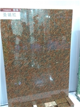 Red Moss Granite Slabs,Tiles