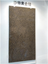Saudi Gold Diamond Granite Slabs,Tiles