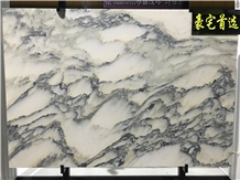 China Landscape Painting Marble Wall
