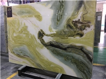 China Dreaming Green Backlit Marble for Wall