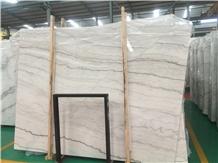 China Sunny White Marble Slab / Guangxi White Tile