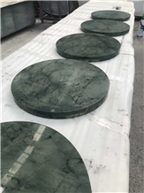 Chinese Edinburgh Green Marble Table Top