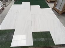Dolomite White Marble Tile Wall Cladding Stone
