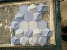 Irregular 3d Shape Waterjet Mosaics