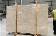 Polished Light Pearl Marble Slabs for Wall & Floor