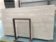 Travertine Silver Slab for Floor and Wall Covering