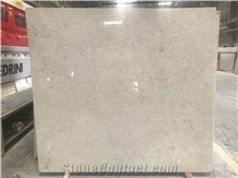 Turkey Light Pearl Marble Slab for Counter Tops