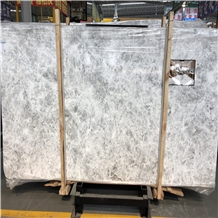 White Marble , Ice Flower Marble Slab