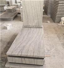 China Viscont White Granite for Tombstone Monument