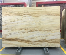 Golden Macauba Granite Slab
