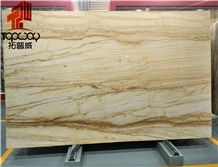 Golden Macauba Marble Slab