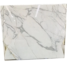 Calacatta Gold Classic Marble White Color