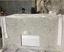 China G655 Rice White Granite Countertops