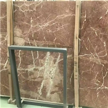 China Rosso Alicante Red Marble Slabs