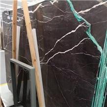 Chinese Laurent Brown Marble Slabs