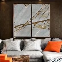 Luxury Stone Blue Roma Quartzite Slabs&Tiles