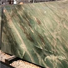 Natural Botanic Green Quartize Slabs