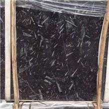 Ocean Black Fossil Marble Slabs