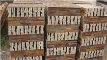 Rusty Slate Wall Cladding Ledge Stone Panels